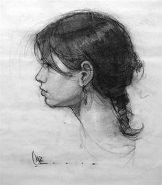 графика. портрет
