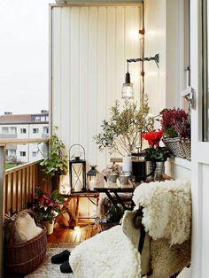 deko balkon balkon gestaltung ideen