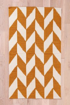 Herringbone Rug- $44 for a 3x5 at urban outfitters