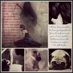 La carezza del destino di Elisa S. Amore (collage)