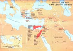 Books of the Bible in the Lands of the Bible