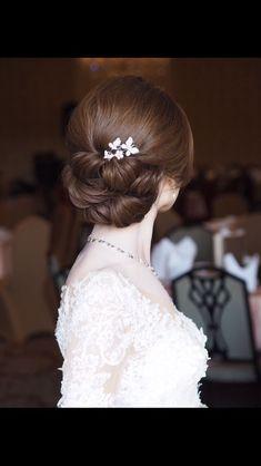 Korea Casino Live Casino Macau Casino M Casino , Bridal Hair Buns, Bridal Hairdo, Hairdo Wedding, Wedding Hair And Makeup, Hair Makeup, Asian Bridal Hair, Wedding Beauty, Saree Hairstyles, Bride Hairstyles