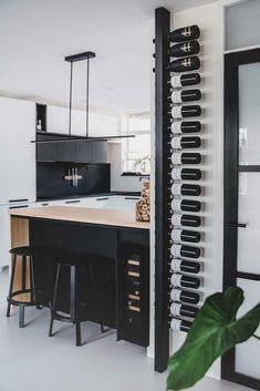 Selected by Sabine: nog meer leuks voor je interieur Küchen Design, House Design, Interior Design, Kitchen Interior, Kitchen Decor, Kitchen Ideas, 70s Kitchen, Wine Rack Design, Home Wine Cellars