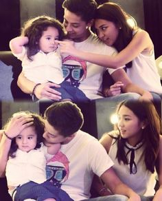 Ninong DJ and Ninang Kath with baby Jordan Child Actresses, Child Actors, Kathryn Bernardo Outfits, Ylona Garcia, Daniel Johns, Filipina Beauty, Cant Help Falling In Love, Daniel Padilla, John Ford