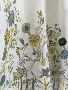 Sophie Digard - Naive Embroidered Scarf