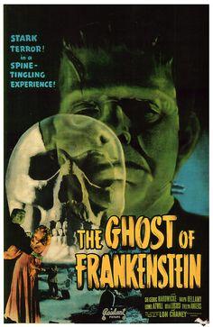 Bela Lugosi Frankenstein Poster