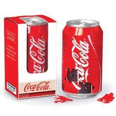 Coca-Cola Can Puzzle is one of Springbok's 40 Piece Puzzles. This Coke puzzle is a great gift. Coca Cola Decor, Coca Cola Can, Always Coca Cola, World Of Coca Cola, Coca Cola Bottles, Coke Cans, Pepsi, Soda Bottles, Garrafa Coca Cola