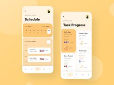 Selection of design works for app development inspiration. The works created by top designer and developers. Mobile Ui Design, App Ui Design, Interface Design, Flat Design, User Interface, Design Design, Graphic Design, Logo Web, Ui Web