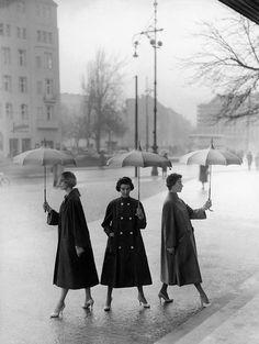 Three poplin coats by Staebe-Seger | Flickr - Photo Sharing!