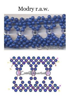 Modry r.a.w. seed bead pattern  Sooooooo viiiiiele verschiedene anleitungen Bilder etwas schlecht, aber mit phantasie gehts.... ;-)