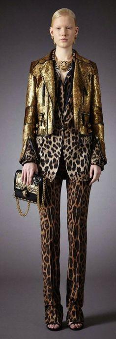 Roberto Cavalli Pre-Fall 2014 - Runway Photos - Fashion Week - Runway, Fashion Shows and Collections - Vogue Leopard Fashion, Animal Print Fashion, Fashion Prints, Animal Prints, Leopard Prints, Cheetah, Roberto Cavalli, Runway Fashion, Fashion Show