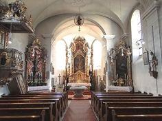 inside Theuern church