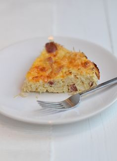 zuurkool frittata Frittata, Oven Dishes, Winter Food, Food Inspiration, Macaroni And Cheese, Good Food, Low Carb, Favorite Recipes, Healthy Recipes