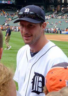 #MLB - Max Scherzer of the Detroit #Tigers - #baseball