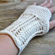 PATTERN ONLY PDF File  romantic fingerless mittens