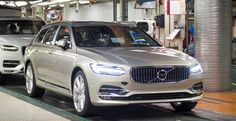2017 Volvo V90 Estate now in production