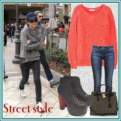 """Emma Watson: Street Style"" by yamyiy on Polyvore"