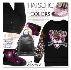 Tiger Sequins Pattern Sweatshirt by jecakns on Polyvore featuring moda and STELLA McCARTNEY