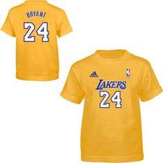 adidas Los Angeles Lakers Kobe Bryant Preschool Game Time T-Shirt - $19.99