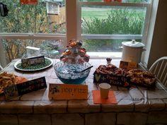 Skylander themed party food