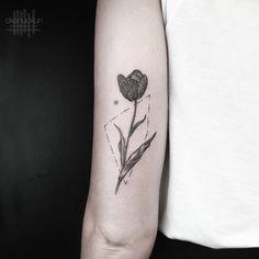 Okan Uckun Minimal & Geometric Tattoos
