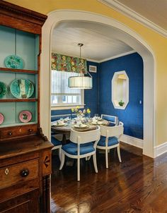 Whimsical Chicago Dining Nook by W Design