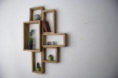 Creative Pallet Wall Shelves Unit | 99 Pallets