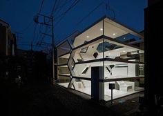 Transparent Home: Glass Dwelling Puts Urban Life on Display
