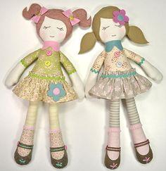 Bella & Trudie Rag Doll Pattern - PDF   Craftsy