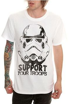 Star Wars Support Your Troops T-Shirt  $20.50