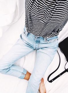 Denim // Stripes