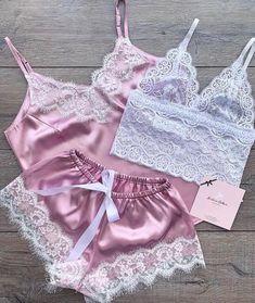 Jolie Lingerie, Lingerie Outfits, Pretty Lingerie, Beautiful Lingerie, Lingerie Set, Women Lingerie, Cute Sleepwear, Sleepwear Women, Pajamas Women