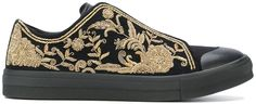Alexander McQueen embroidered low cut sneaker