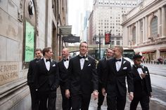 The groom and the groom men