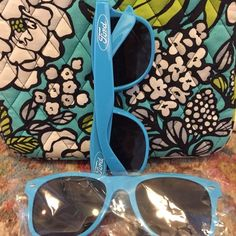Blue Ford Trucks Sunglasses New in package, cute blue shades with the Ford logo. Ford Accessories Glasses