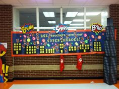 Super Hero Teacher Appreciation Theme at Rock Spring Elementary