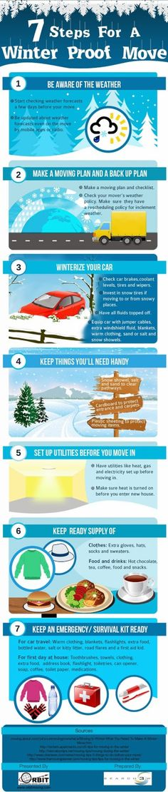 7 Steps For A Winter Proof Move re-pinned by Palm Springs area Realtors, Judy and Nelson Horn www.JudyAndNelson.com #PalmSprings #Judy and Nelson Horn #www.JudyAndNelson.com