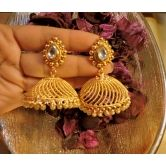 Southern Gold Platted Light Weight Jhumkaas