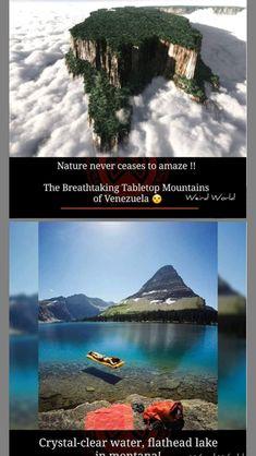 Flathead Lake, Crystal Clear Water, Weird World, Mountains, Amazing, Nature, Weird, World, Venezuela