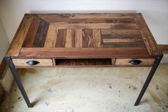 pallet desk - Google Search