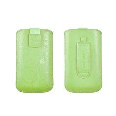 Telone Deko 1 Pouch Size 14 - вертикален кожен калъф, тип джоб с лента за издърпване за HTC M8, LG G3, Samsung Galaxy Note 1,… www.Sim.bg