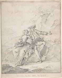18th Century, French. Artist unknown. Given to the Met by Cephas G. Thompson 1887.