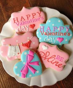 Valentines Day Cookie Ideas-Love Me Like U Do