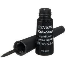 Revlon Color Stay Liquid Eyeliner - good stuff. THS is the BEST liquid eyeliner out of all the drugstore brands out there right now!! I would even say that it is better than the professional/high-end make up brands like; MAC, and NARS!!!!