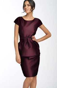 Pleats Sashes/Ribbons Short-Sleeves Knee-Length Round-Neckline Mother of The Bride Dresses_Mother of the Bride Dresses_Wedding Party Dresses_Buy High Quality Dresses from Dress Factory Wedding Party Dresses, Bridesmaid Dresses, Bride Dresses, Wedding Attire, Bridesmaids, Mothers Dresses, Groom Dress, Stunning Dresses, Nordstrom Dresses