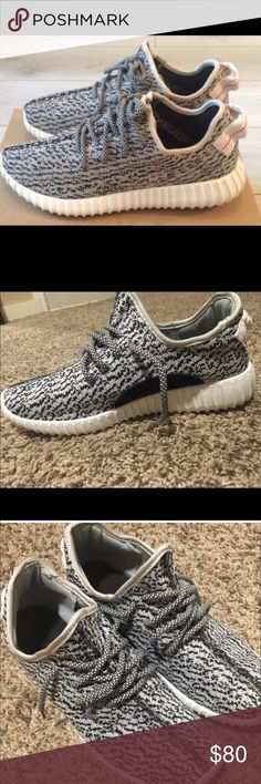 (Fake) yeezys They are great good looking shoes, size 11.5. Only worn 2-3 times, yes they are fake but still work, asking 80$ obo Yeezy Shoes Sneakers