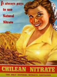 "Chile Salitre ""It always pays to use Natural Nitrate. Chilean Nitrate"", 1952 Fuente:archivonacional.cl"