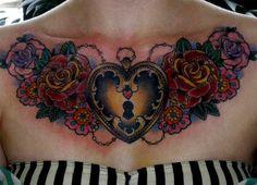 Do you like chest tattoos on women? I like!
