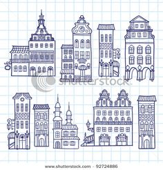 House vector set