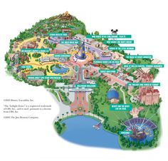 River Country Map When The Watedpark Was Atill In Operation Via - Walt disney world river country map